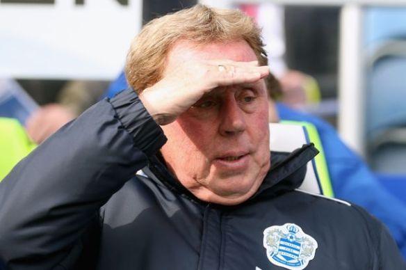 Los problemas en el horizonte han sido una constante para Redknapp.